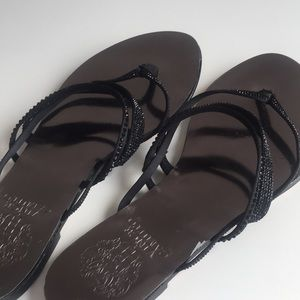 Vince camuto rhinestone sandals